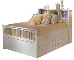 New Classic Bayfront Full Captains Storage Bed with No Drawers