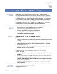 Loan Officer Resume Examples Best Loan Officer Resume Example Livecareer Templates Awesome 19