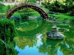 Japanese Style Garden Bridges Pond Bridge Pueblosinfronterasus