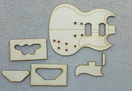 Sg Template Sg Guitar Template Set 50 00 Picclick