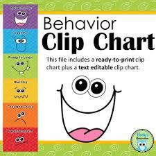 Behaviour Clip Chart Behavior Clip Chart Goofy Faces