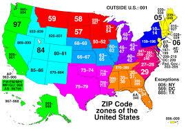 Usps Postal Zone Chart 2019 52 Distinct Usps Priority Zones
