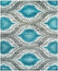 aqua blue area rug rugs fantastic tan and co pertaining to teal ideas