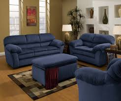 blue living room sets luxury dark blue living room set