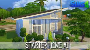 Small Picture The Sims 4 House Building Starter home 1 Speed Build YouTube