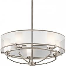 contemporary drum lighting. Beautiful Contemporary SALDANA Modern Pewter Drum Pendant Ceiling Light With 5 Bulbs With Contemporary Drum Lighting N