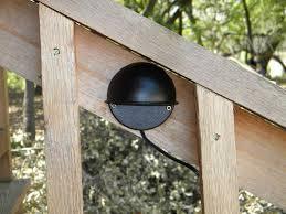 outdoor led deck lights. solar led porch / deck light kit - 2 lights outdoor led deck lights