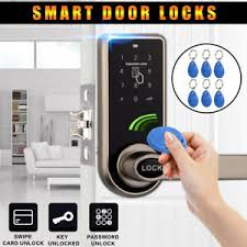 home security door locks. Exellent Security Image Is Loading ElectronicCodeKeylessKeypadHomeSecurityEntryDoor Inside Home Security Door Locks I
