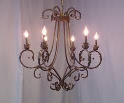 wrought iron antler chandeliers lighting rustic tuscan