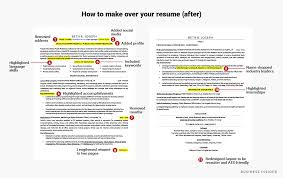 How To Make Your Resume How To Update Your Resume When You Get A New Job Business Insider 8