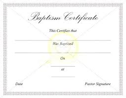 Baptism Sponsor Certificate Template Magnificent Port By Of Pdf