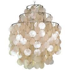capiz shell chandelier world market disk for at l