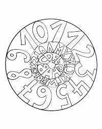 Mandala A Colorier Facile Enfant 7 Mandalas Faciles Pour Coloriage Facile Pour Enfant L