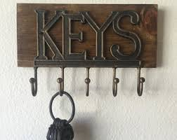 Wall Mounted Magnetic Key Holder And Organizer Enlarge Image