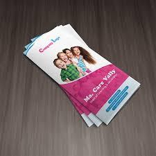 Child Care Brochure Design Best Child Care Tri Fold Brochure On Behance