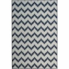 catalina home navy 5 x8 indoor outdoor rug