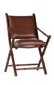leather folding chair loading zoom