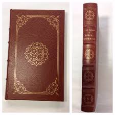 1979 easton press browning the poems collector s edition leather bound book