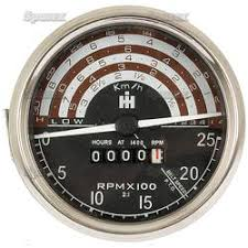 gauges and electrical tractormeter ih b275 km h 06052864