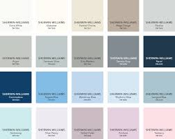 Sherwin Williams Color Chart 2018 Paint Colors From Sherwin Williams In 2019 Pottery Barn