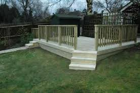 Small Picture Raised Decking Ideas For Small Gardens Garden Design