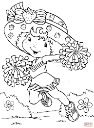 Small Picture Strawberry Shortcake And Friends Coloring Pages Strawberry