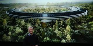 apple office. Tim Cook Apple Campus 2 Office