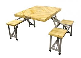 Camping Folding Table And Chairs Set Sunncamp Wooden Picnic Table Chairs Set Camping Chairs And
