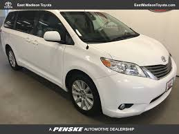 2013 Used Toyota Sienna 5dr 7-Passenger Van V6 XLE AWD at East ...