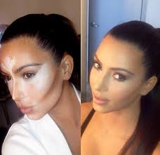 otherwise known as the turning point in the makeup world 2016 was the year kim kardashian tweeted a before and after photo of herself pre and post contour