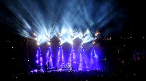 beautiful lighting. Music Concert - Stage Long Shot Beautiful Lighting Live Show Amphi Theatre