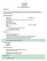 Cv Template Free Professional Resume Templates Word Open