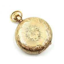 watches vintage lord elgin 14k yellow gold pocket watch image 3
