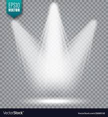 Light Beam Logo Spotlight Bright Light Beam Transparent