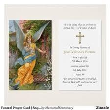 Funeral Prayer Cards 37 Best Angel Funeral Prayer Cards Images Funeral Prayers Funeral