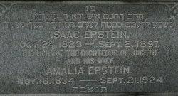 Amelia Tannenbaum Epstein (1834-1924) - Find A Grave Memorial