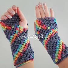 Free Crochet Pattern For Fingerless Gloves