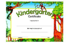 Kindergarten Diploma Certificate Template 9 Preschool Templates C La