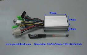 250watts 36v 6 mosfets brushless controller for e bike bldc hub brushless controller 36v 250watts 6mosfets for bldc hub