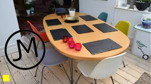 making slate table mats coasters from roof tiles 4