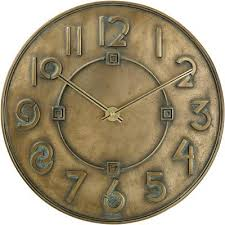 art deco clocks home decor the
