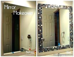 Diy mirror frame ideas Design Easy Mirror Frames Easy Mirror Framing Ideas Bathroom Frame Inside Framed Mirrors Plan Company Decorating Tips Easy Mirror Frames Tucadivi Easy Mirror Frames Easy Steps To Frame Mirror Easy Handmade Mirror