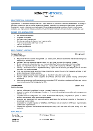 It Manager Sample Resume IT Manager Resume Samples And Writing Guide [24 Examples] ResumeYard 7