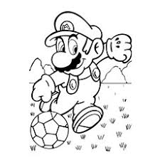 Soccer Coloring Pages To Print At Getdrawingscom Free For