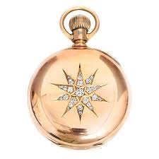 17 best images about pocket watches vintage watches vintage hamilton 941 men s yellow gold diamond pocket watch