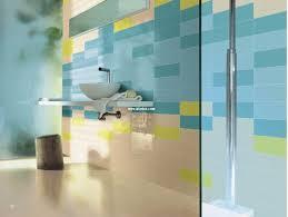 blue bathroom tiles. Bathroom: Blue And Yellow Bathroom Wall Tiles Design - Ceramic