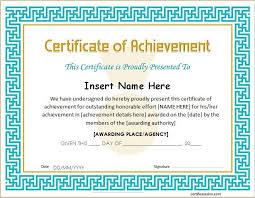 Achievement Certificate Pin By Alizbath Adam On Certificates Certificate Certificate Of