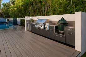 Outdoor Kitchen On A Deck L Trex Outdoor Kitchens