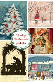 Christmas Card Images Free 25 Free Vintage Christmas Card Images Day 12 Remodelaholic