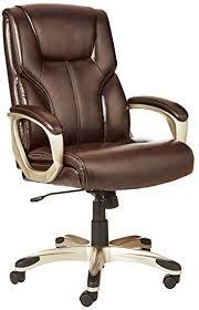 AmazonBasics <b>High Back Executive Chair</b> (Brown): Amazon.in ...